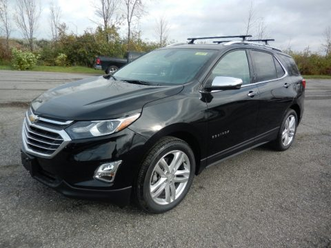 Mosaic Black Metallic Chevrolet Equinox Premier.  Click to enlarge.