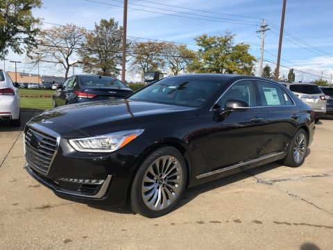 Victoria Black Hyundai Genesis G90 AWD.  Click to enlarge.