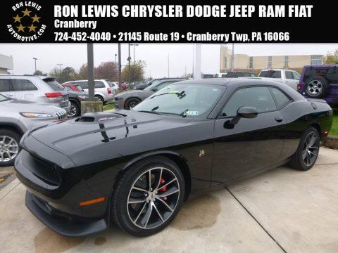 Pitch Black Dodge Challenger 392 HEMI Scat Pack Shaker.  Click to enlarge.