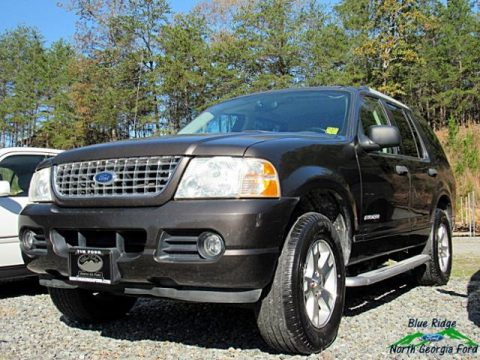 Dark Stone Metallic Ford Explorer XLT 4x4.  Click to enlarge.