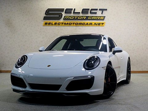 Carrara White Metallic Porsche 911 Carrera 4S Coupe.  Click to enlarge.