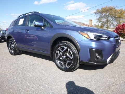 Quartz Blue Pearl Subaru Crosstrek 2.0i Limited.  Click to enlarge.