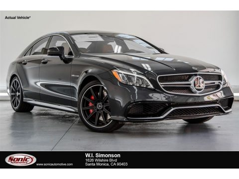 Obsidian Black Metallic Mercedes-Benz CLS AMG 63 S 4Matic Coupe.  Click to enlarge.