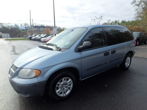 Butane Blue Pearl Dodge Caravan SE.  Click to enlarge.