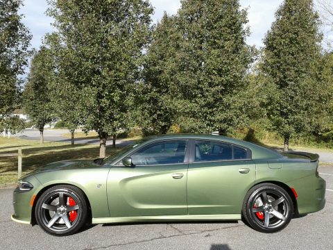 F8 Green Dodge Charger SRT Hellcat.  Click to enlarge.