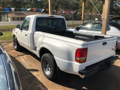 Oxford White Ford Ranger XLT Regular Cab.  Click to enlarge.