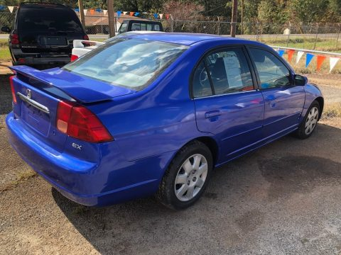 Eternal Blue Pearl Honda Civic EX Sedan.  Click to enlarge.