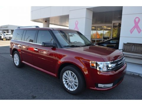 Ruby Red Ford Flex SEL.  Click to enlarge.