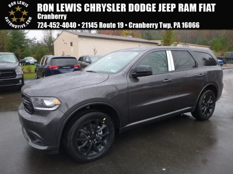 Granite Metallic Dodge Durango SXT AWD.  Click to enlarge.