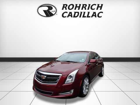 Red Passion Tintcoat Cadillac XTS Luxury AWD.  Click to enlarge.