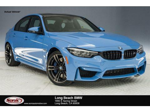 Yas Marina Blue Metallic BMW M3 Sedan.  Click to enlarge.