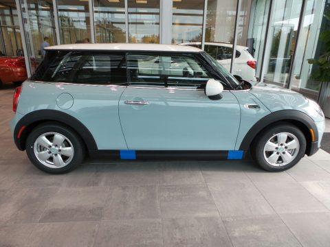 Ice Blue Edition Mini Hardtop Cooper 2 Door.  Click to enlarge.