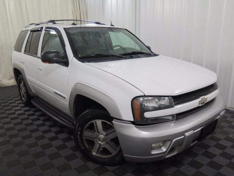 Summit White Chevrolet TrailBlazer LT 4x4.  Click to enlarge.