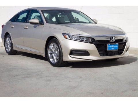 Champagne Frost Pearl Honda Accord LX Sedan.  Click to enlarge.