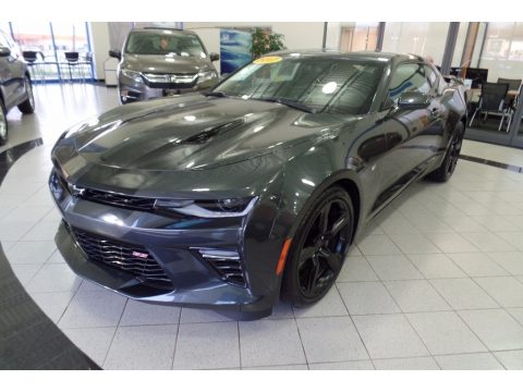 Nightfall Gray Metallic Chevrolet Camaro SS Coupe.  Click to enlarge.