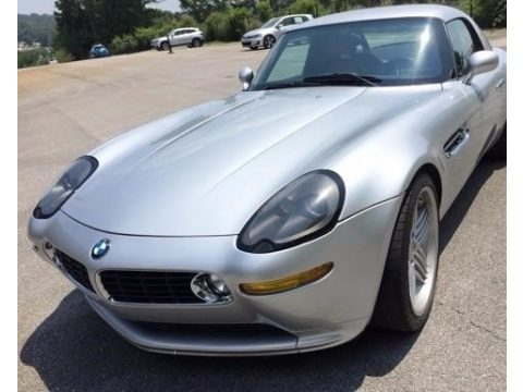 Titanium Silver Metallic BMW Z8 Alpina Roadster.  Click to enlarge.
