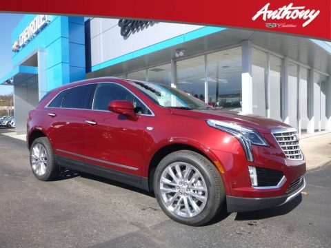 Red Passion Tintcoat Cadillac XT5 Platinum AWD.  Click to enlarge.