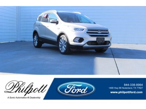 White Gold Ford Escape Titanium.  Click to enlarge.