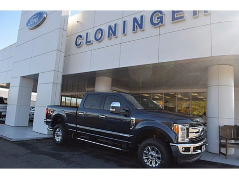 Blue Jeans Ford F250 Super Duty XLT Crew Cab 4x4.  Click to enlarge.