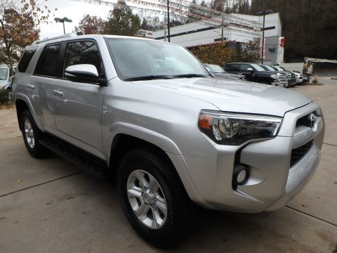 Classic Silver Metallic Toyota 4Runner SR5 4x4.  Click to enlarge.