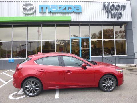 Soul Red Metallic Mazda MAZDA3 Grand Touring 5 Door.  Click to enlarge.