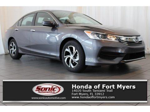 Modern Steel Metallic Honda Accord LX Sedan.  Click to enlarge.