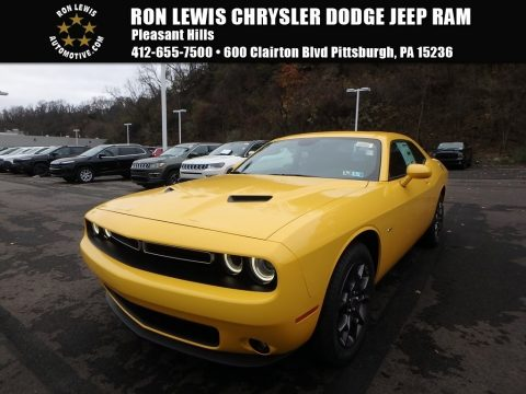 Yellow Jacket Dodge Challenger GT AWD.  Click to enlarge.