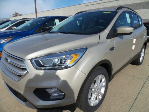 White Gold Ford Escape SEL.  Click to enlarge.