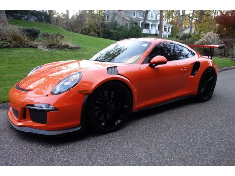 Gulf Orange, Paint to Sample Porsche 911 GT3 RS.  Click to enlarge.