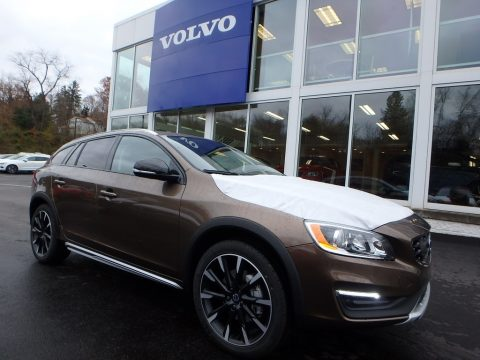 Twilight Bronze Metallic Volvo V60 Cross Country T5 AWD.  Click to enlarge.