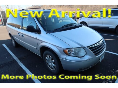Bright Silver Metallic Chrysler Town & Country Touring.  Click to enlarge.