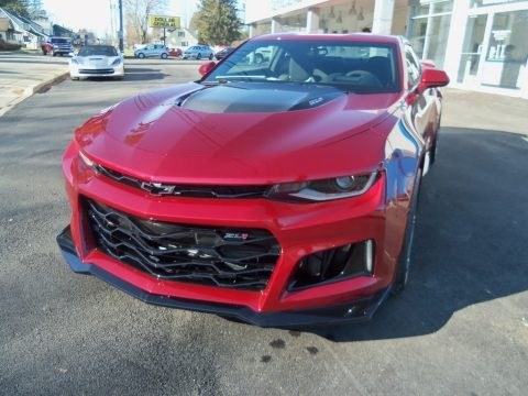 Garnet Red Tintcoat Chevrolet Camaro ZL1 Coupe.  Click to enlarge.