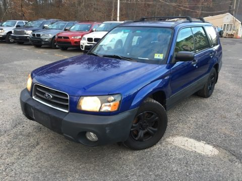 Pacifica Blue Pearl Subaru Forester 2.5 X.  Click to enlarge.