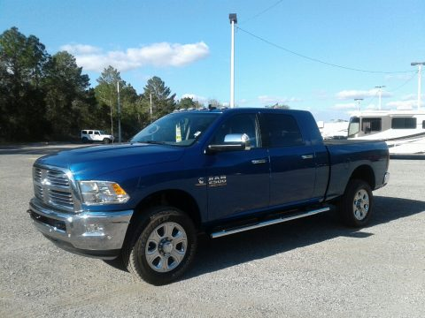 Blue Streak Pearl Ram 2500 Big Horn Mega Cab 4x4.  Click to enlarge.