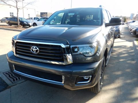 Magnetic Gray Metallic Toyota Sequoia TRD Sport 4x4.  Click to enlarge.