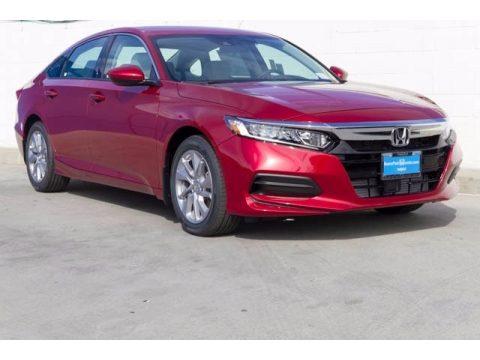 Radiant Red Metallic Honda Accord LX Sedan.  Click to enlarge.