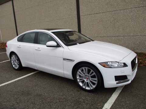 Fuji White Jaguar XF Prestige.  Click to enlarge.