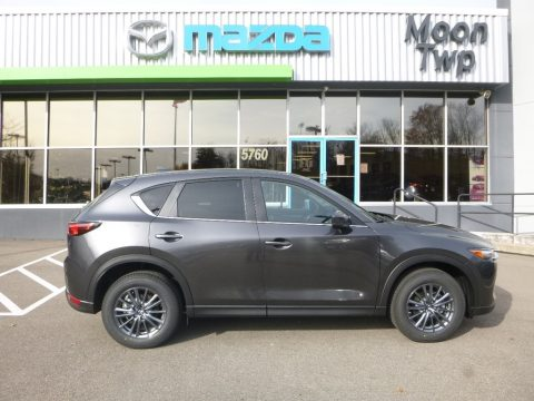 Meteor Gray Mica Mazda CX-5 Touring AWD.  Click to enlarge.