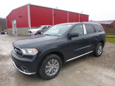 Bruiser Gray Dodge Durango SXT AWD.  Click to enlarge.