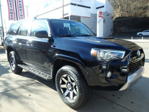 Midnight Black Metallic Toyota 4Runner TRD Off-Road 4x4.  Click to enlarge.