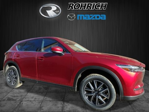 Soul Red Metallic Mazda CX-5 Grand Touring AWD.  Click to enlarge.