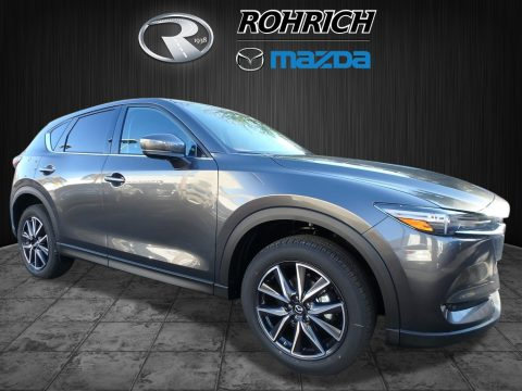Meteor Gray Mica Mazda CX-5 Grand Touring AWD.  Click to enlarge.