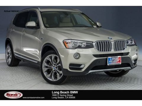 Mineral Silver Metallic BMW X3 sDrive28i.  Click to enlarge.
