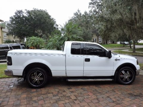 Oxford White Ford F150 XLT SuperCab.  Click to enlarge.