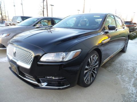 Black Velvet Lincoln Continental Select AWD.  Click to enlarge.
