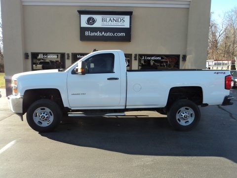 Chevrolet Silverado 2500HD WT Regular Cab 4x4