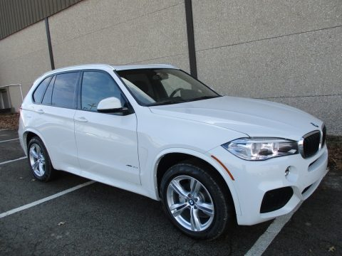 Alpine White BMW X5 xDrive35i.  Click to enlarge.