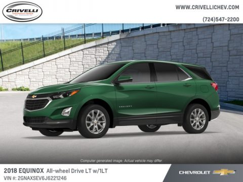 Ivy Metallic Chevrolet Equinox LT AWD.  Click to enlarge.