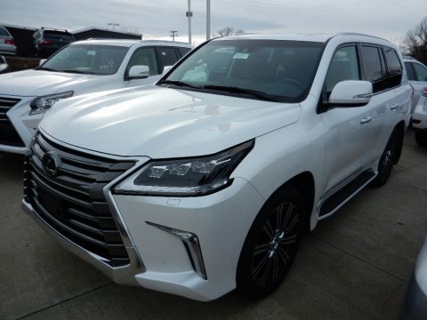 Eminent White Pearl Lexus LX 570.  Click to enlarge.