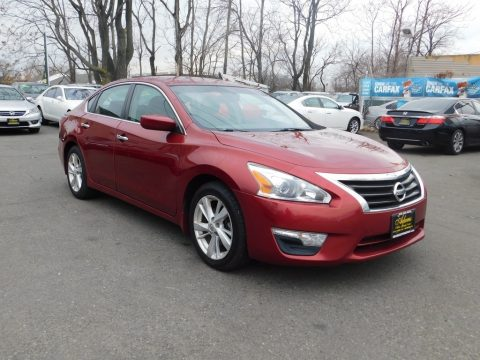 Cayenne Red Nissan Altima 2.5 SV.  Click to enlarge.
